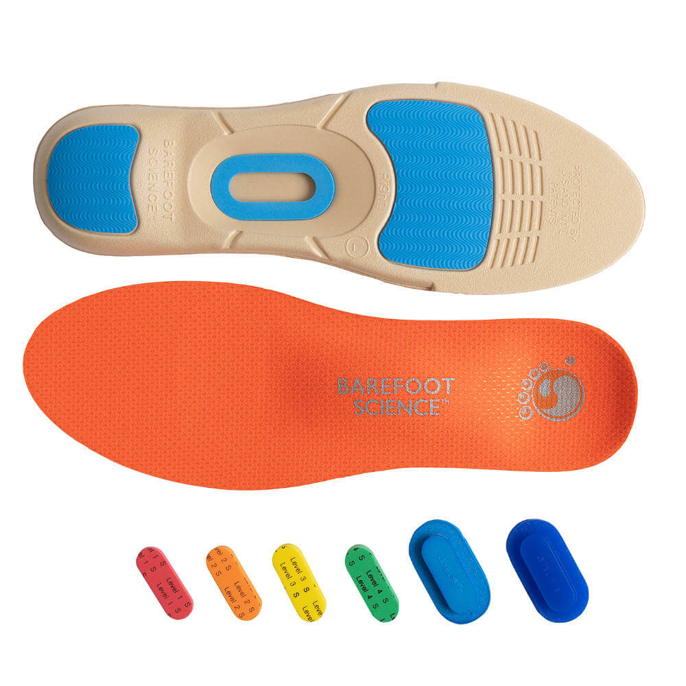 Barefoot Science Insoles Active range