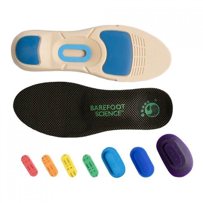 An image of Barefoot Science Insoles Therapeutic Full size