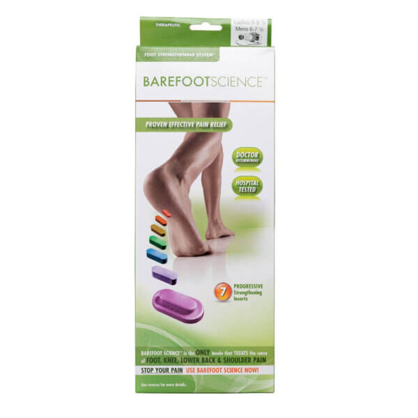 An image of Barefoot Science Therapeutics packaging front